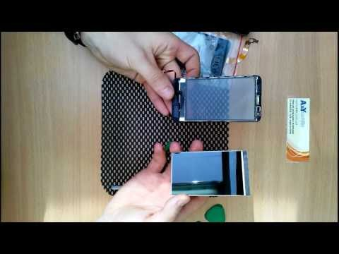 32. Nokia Lumia 620. Как разобрать. Замена тачскрина