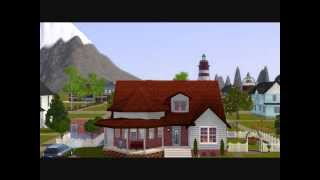 Sims 3: Builds 11 - Small Victorians