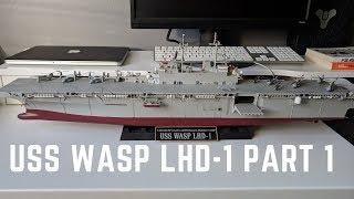 сборная модель Revell U.S.S. Wasp (LHD-1) (1:350) обзор