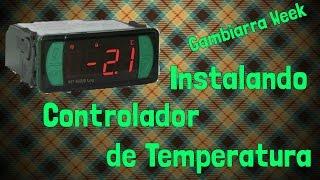 Bronco Gambiarra: Instalando o Controlador de Temperatura