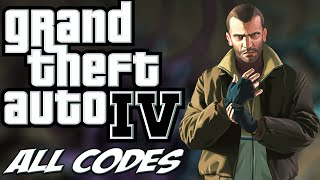 GTA IV - ALL CHEATS + Demonstration [PC/PS3/Xbox360]