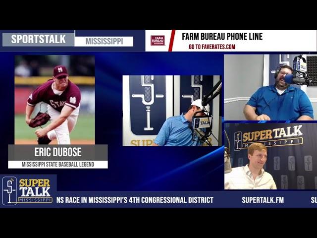 Eric Dubose - Legend MSU left hand pitcher