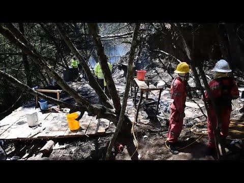 Descubren un laboratorio de cocaína en la finca del embajador de Colombia en Uruguay