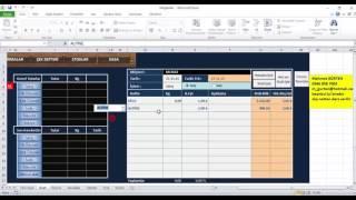 Excel Ders Cari Hesap Stok Kasa ve Çek Takibi
