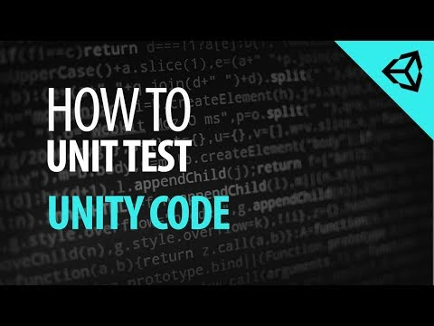 How to Unit Test Unity Code