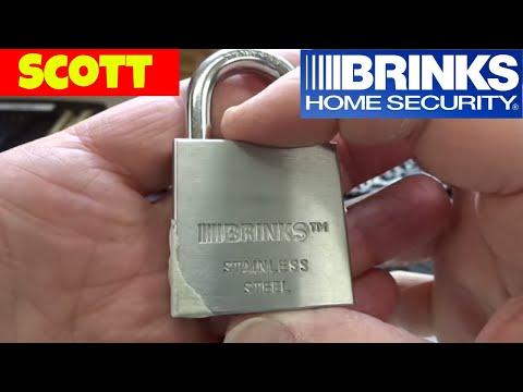(730) Challenge: Brinks 50mm Stainless Steel Padlock Picked