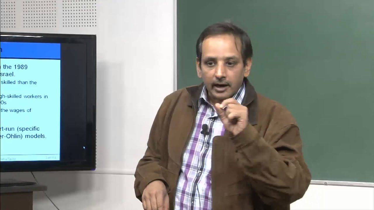 Mod-01 Lec-40 Lecture-40International Economics
