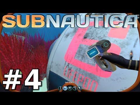 Lifepod 6 Distress Signal! - Subnautica Gameplay - Episode 4