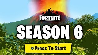 FORTNITE SEASON 6 LEAKS - NEW SKINS, NEW MAP, BATTLE PASS THEME, CUBE (Fortnite Battle Royale)