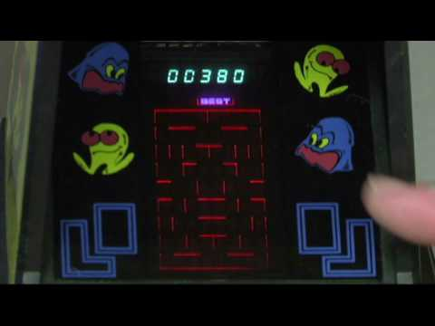 Jeff's ManCave Episode #4: Coleco Arcade Tabletop Pac Man Game