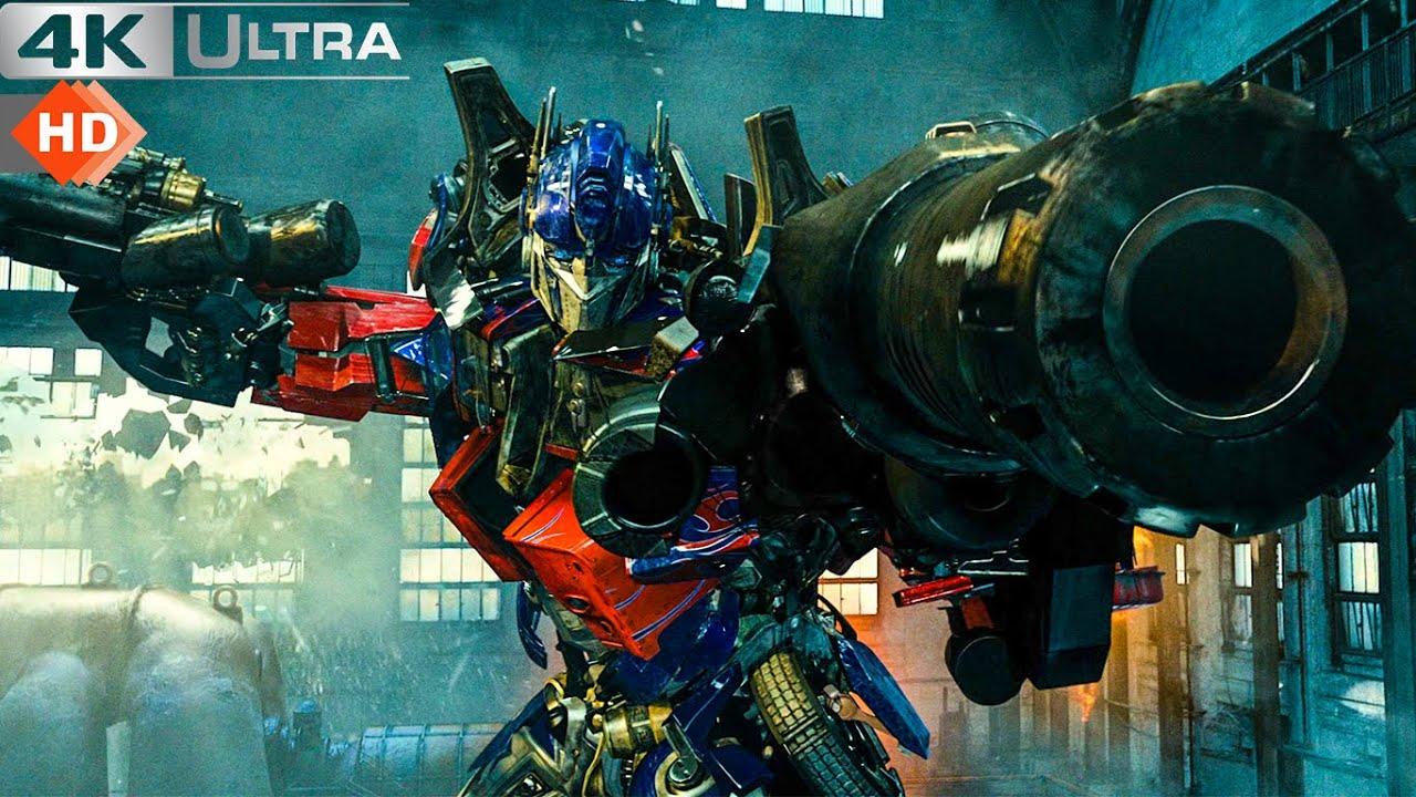 Download Transformers 2 Revenge Of The Fallen - Forest Battle Fight 4k
