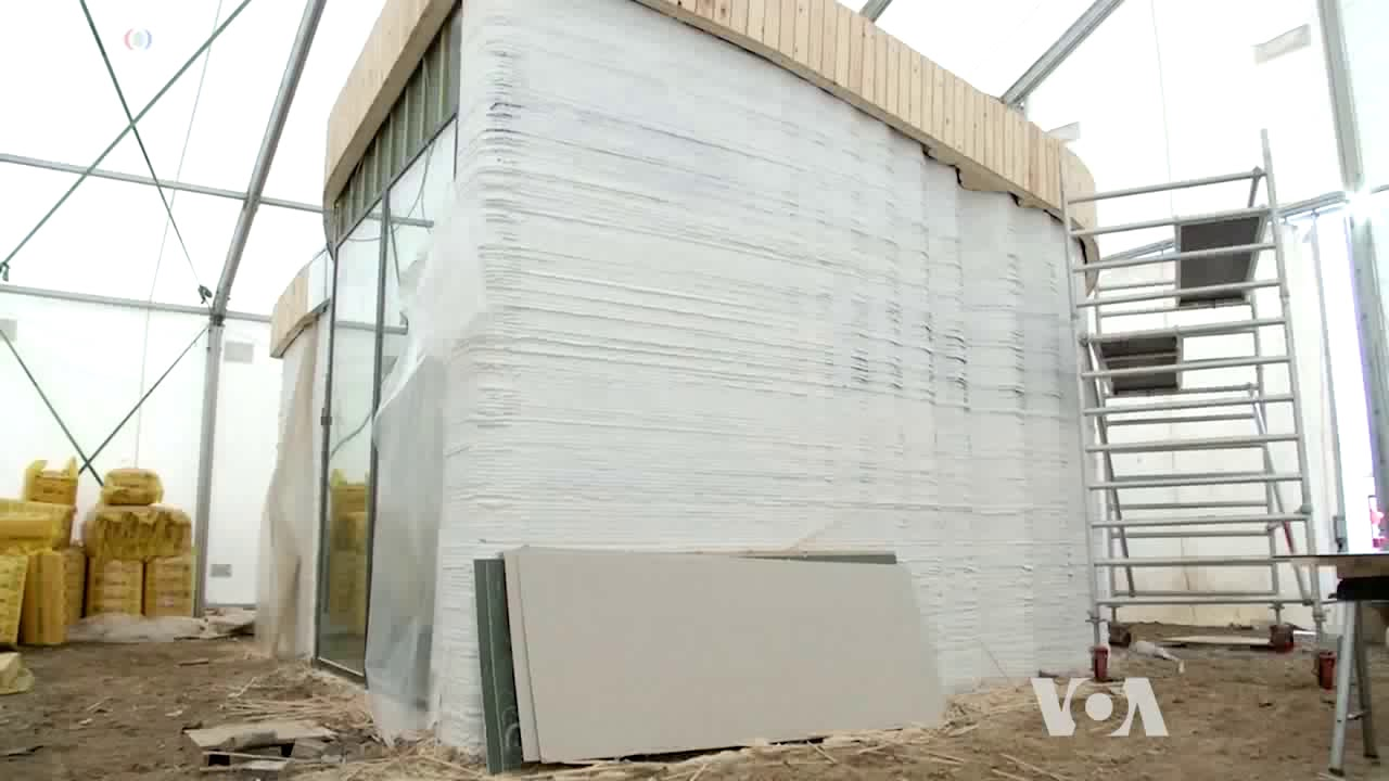 The First 3D-Printed Building Goes Up in Denmark