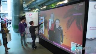 Digitale Graffiti tijdens de week van de techniek in Nijmegen