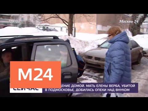 Мать зарезанной в Подмосковье Елены Верба добилась опеки над внуком - Москва 24