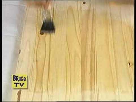 Come verniciare il legno  YouTube