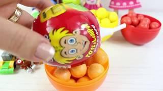 Niloya Ve Tosbik Renkeri Öğreniyor Renkli Sürpriz Yumurtalar Yeni Oyuncaklar Açıyoruz