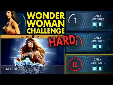 Injustice 2 Mobile. WARRIOR QUEEN WONDER WOMAN CHALLENGE (HARD). Injustice 2 IOS/Android