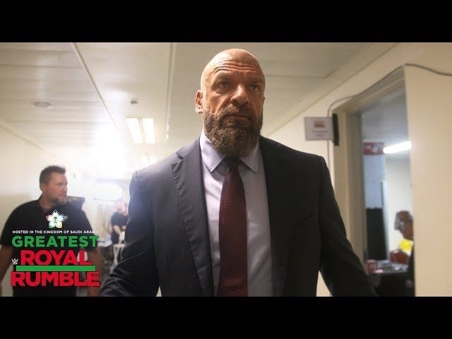 Triple H says John Cena better bring his A-game: WWE Exclusive, April 27, 2018