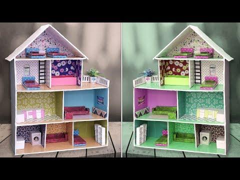 DIY Miniature Doll House Making !!!