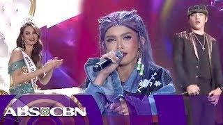 KZ Tandingan and Kritiko sing Raise Your Flag | Miss Universe 2018 Homecoming