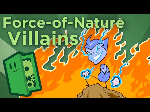 Force-of-Nature Villains - Giving a Face to Pure Evil - Extra Credits