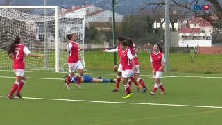 O resumo do SC Braga B - Gil Vicente FC   Feminino