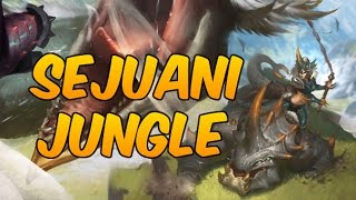 league of legends beast hunter sejuani jungle full game commentary