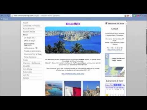 Le site des Licences Professionnelles RISLAV & TCCI