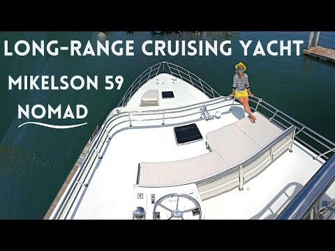 $2,347,000 2020 MIKELSON 59' NOMAD SPORTFISHER Motor Yacht Tour Boat WALKTHROUGH & SPECS Liveaboard