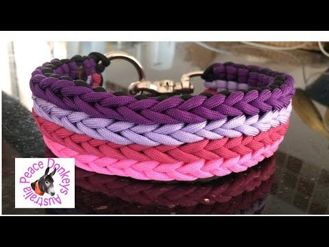 How to make a serenity dog collar - adjustable and non-adjustable