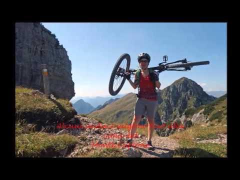 Monte Caplone esc CAI Parma mtb - YouTube