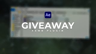 After Effects Giveaway: ReelSmartMotionBlur Plugin (RSMB)
