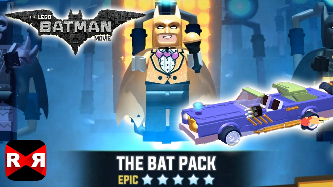 The Lego Batman Movie Game The Bat Pack With Joker Notorious Lowrider Unlocked Youtube