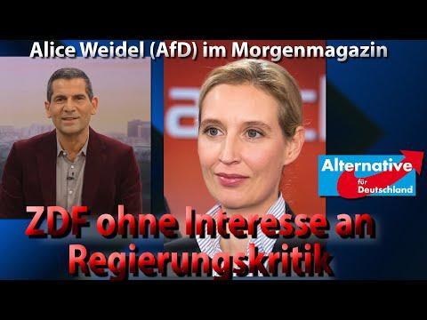 Wie Alice Weidel (AfD) das Morgenmagazin entblößt