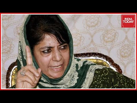 J&K CM, Mehbooba Mufti Loses Cool Over Questions On Kashmir Unrest