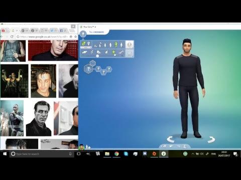Sims 4 Game play! | Making Till Lindemann
