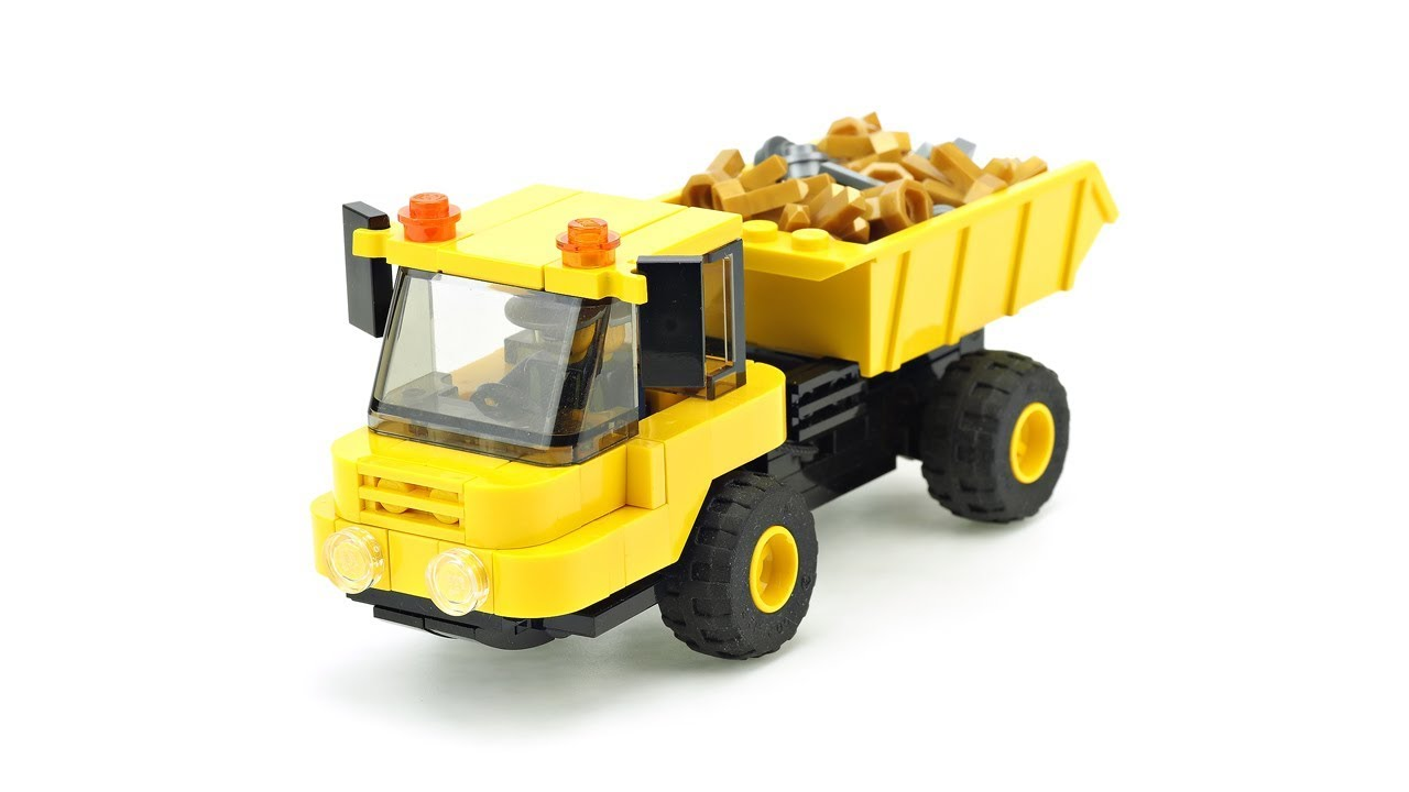 Building A Small Dump Truck In Lego