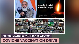 PM Modi launches pan-India rollout of COVID-19 vaccination drive