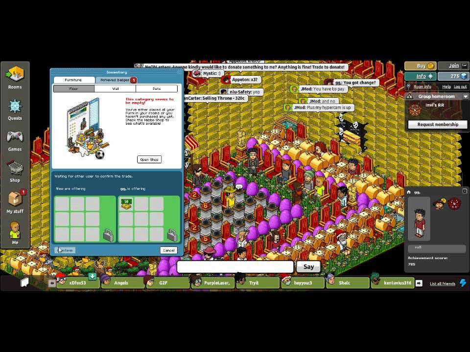 Habbo casino scams square games 2