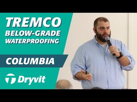 Tremco Below Grade Waterproofing (Colombia Training 3/11)