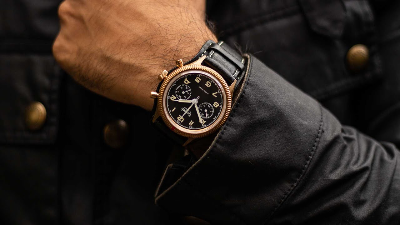 Introducing the Hanhart x The Rake & Revolution Limited Edition Bronze 417 Chronograph
