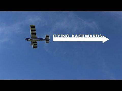 FLYING BACKWARDS IN 40MPH WIND | VLOG0125