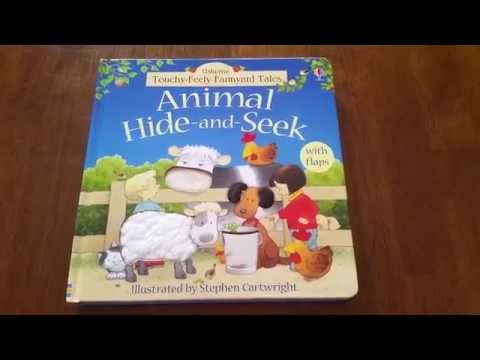 Touchy-Feely Farmyard Tales Animal Hide And Seek: Usborne Books And More