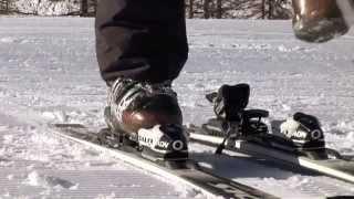 Урок 5 - Привыкание к горным лыжам