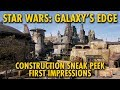 Star Wars: Galaxy's Edge Sneak Peek First Impressions   Disney's Hollywood Studios
