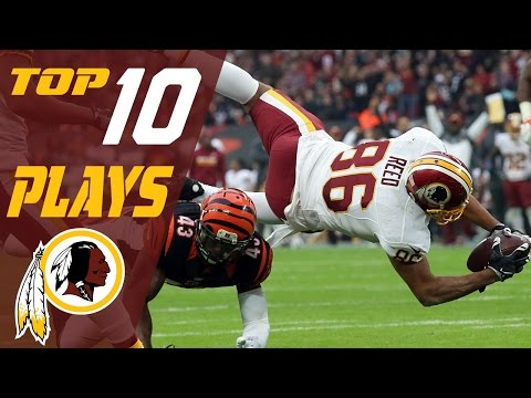 Redskins Top 10 Plays of the 2016 Season | NFL Highlights