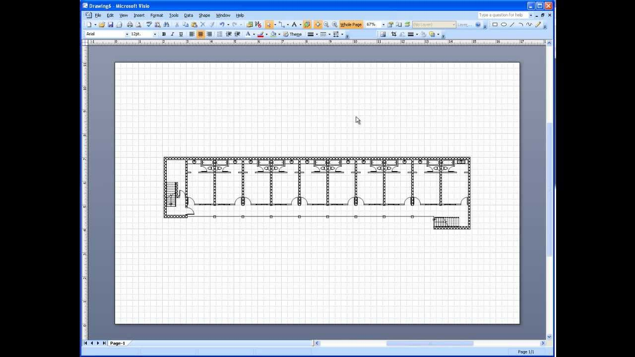 visio 2003  2007 electrical systems drawing part 1 - import background