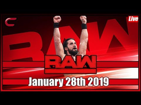 WWE RAW Live Stream Full Show January 28th 2019: Live Reaction Conman167
