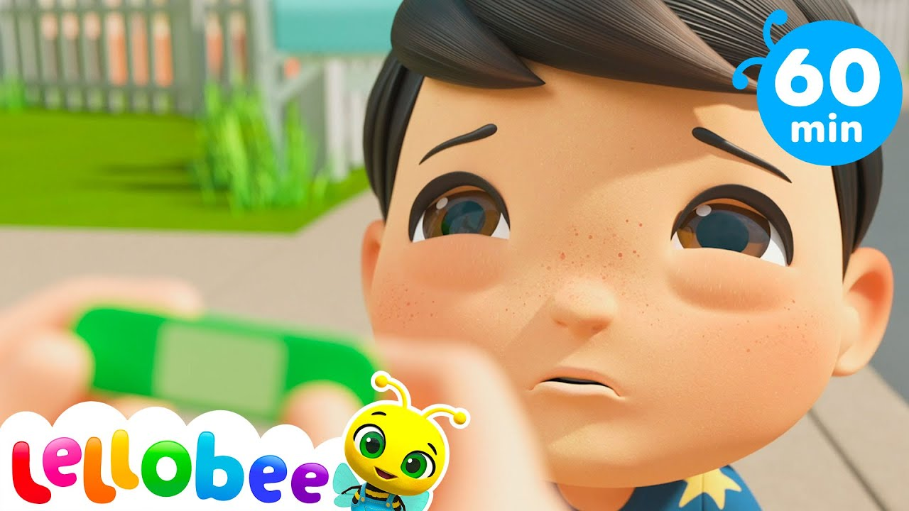 Ouch Boo Boo Song + More Nursery Rhymes For Kids & Kid Songs - Lellobee ABC Kids