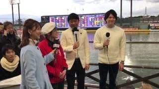 放送が始まりますなり、武田修宏さん、保田賢也さん、澤田 南さんです。YouTubeチャンネル登録よろしゅうに❗️